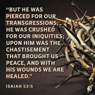 Why do we call it Good Friday? It is the only time in all human history that a good man, a sinless man, died.  While Christ's physical suffering was brutal, He endured more than physical pain.  Worse than the excruciating torture of a Roman crucifixion, He bore the guilt of all of our sin. The eternal punishment that was due to us, He took upon Himself at Golgotha's hill.  Isaiah's 700 year old prophesy was fulfilled on the day of Jesus' crucifixion. Jesus became for us the suffering servant and the lamb of God.  All glory to Jesus Christ.  #HolyWeek #GoodFriday #Easter