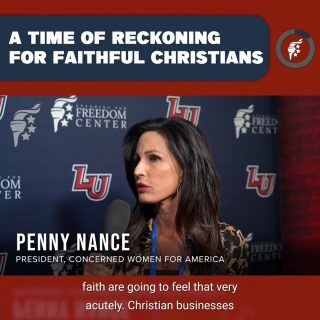 The cultural & political landscape is going to become increasingly hostile to faithful Christians. Do not be discouraged! We are facing the consequences of a secular culture. Hold fast to the truth of the Christian faith & never give up the fight to preserve our American liberty.