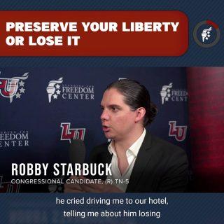 The need to preserve and protect our liberty cannot be overstated. Countless Americans are hurting unnecessarily because of gross government power grabs. History teaches us that government loves to capitalize on crises to increase its power. We cannot let this historical pattern repeat itself. Either we preserve our liberty now, or we will lose it.  @robbystarbuck
