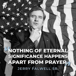 """""""For truly, I say to you, if you have faith like a grain of mustard seed, you will say to this mountain, 'Move from here to there,' and it will move, and nothing will be impossible for you."""" - Matthew 17:20   #NationalDayOfPrayer"""