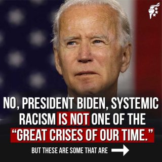 President Biden continues to miss the mark on what the real issues are in our nation.