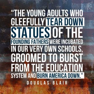 Most of our educational system is poisoning the minds of our children and young adults, making them believe that America is an evil country that needs to be destroyed. If we are to restore a more moral culture and preserve America, we must recover our schools from the degeneracy of the left.