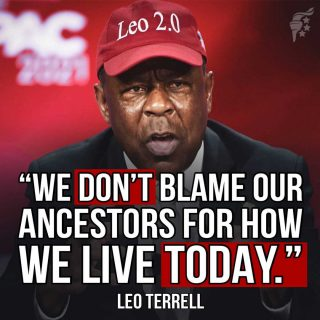 Whatever happened in our country's history should not define how we behave now. We should learn from the errors of the past, but we shouldn't emulate those same errors again and pretend it's justice.  @realleoterrell