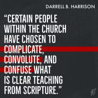 Some Scripture requires deeper study to understand, but plenty of Scripture is straightforward and easily discernible. It is many of those parts of Scripture that progressives and woke Americans are intentionally manipulating to make it seem as though Scripture supports their secular and sinful philosophies. Stay rooted in Scripture and the truth found within it will set you free.  @darrellbharrison