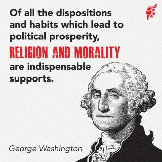 Our Constitutional Republic was designed for the people to govern themselves, but our system requires virtue and morality to function properly. Without a moral framework to guide our governance, the natural consequence is a culture, and ultimately a government, that embraces evil and takes freedom away to impose its will on the people. If we want greater prosperity for America, we are going to need to embrace the principles of the Christian faith, which guided our Founders in America's design and led to America's great success in the first place.