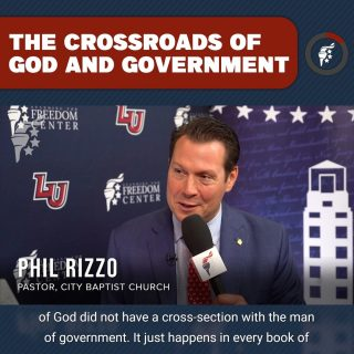 The narrative that God doesn't care about government is antithetical to what we read in Scripture. God cares about government, after all, he instituted it. Just like everything else in this world, He wants His people to be involved in it and represent His Kingdom, for His glory.  @jersey_rizzo