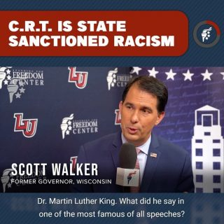 The United States has come too far in its pursuit of liberty and justice for all to regress, at the hands of leftists, to judging people according to the color of their skin. Your skin color confers none of your character and should therefore be used to judge nothing about you.  @scottwalker @yaf_